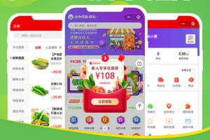 微信小程序拼购社区团购分销电商系统多店铺直播商城